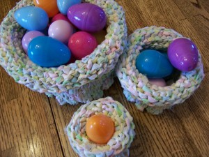 Nested Easter Baskets