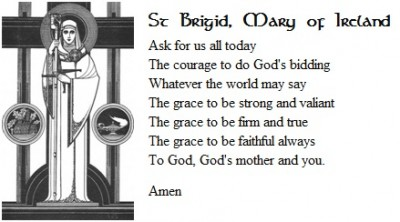 St. Brigid prayer