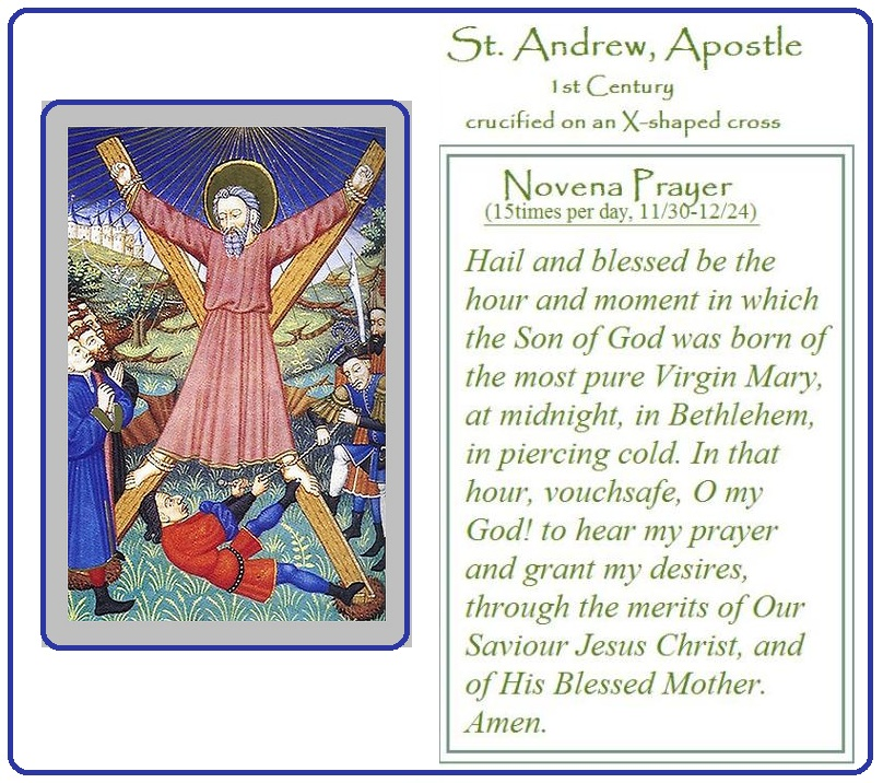 Feast Day: St. Andrew, the Apostle | By Hand, With Heart
