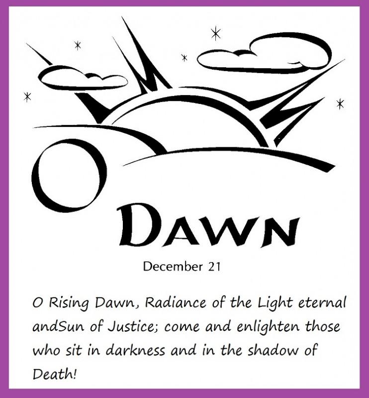 O Dayspring, Radiant Dawn
