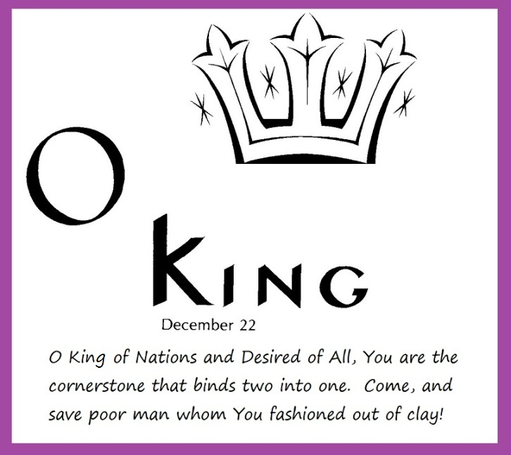 O King of Nations