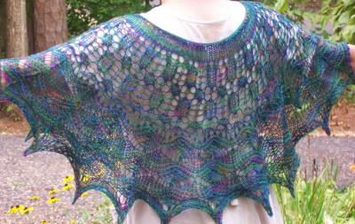 The Irish Sea shawl ... 'nough said!
