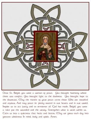 St. Brigid of Ireland -- 453-523