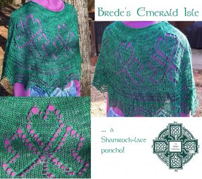 Brede's Emerald Isle Poncho