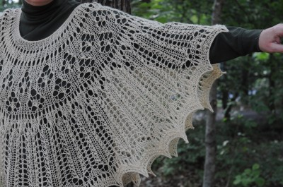 Not-so-plain-Jane shawl