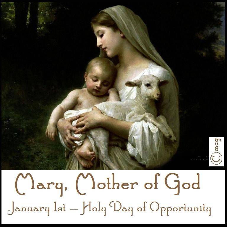 1 Jan Mother of God