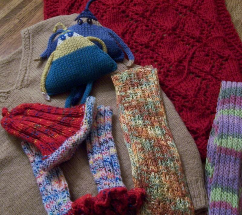 Yarn-along: December 12,2012Yarn-along: December 12,2012