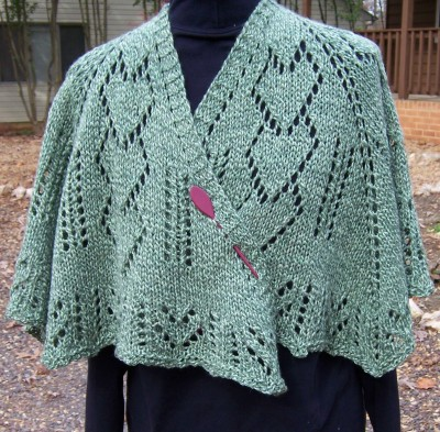 All Wrapped Up in Love (prayer shawl)