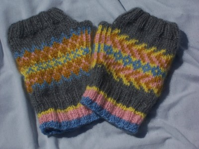 Fair Isle Fingerless Fun
