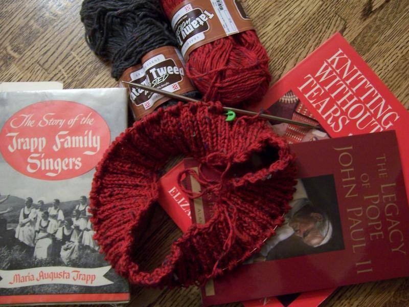 Yarn-along: January 16, 2013