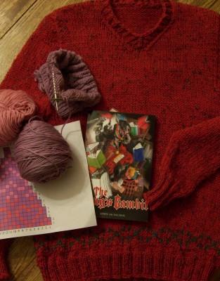 Yarn-along: January 23, 2013