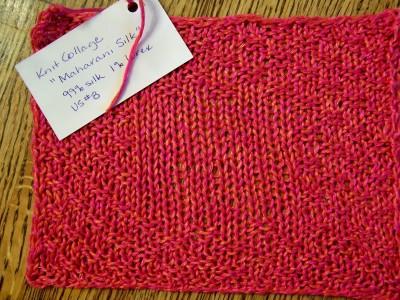 Knit Collage's Maharani Silk in 99% silk, 1% lurex