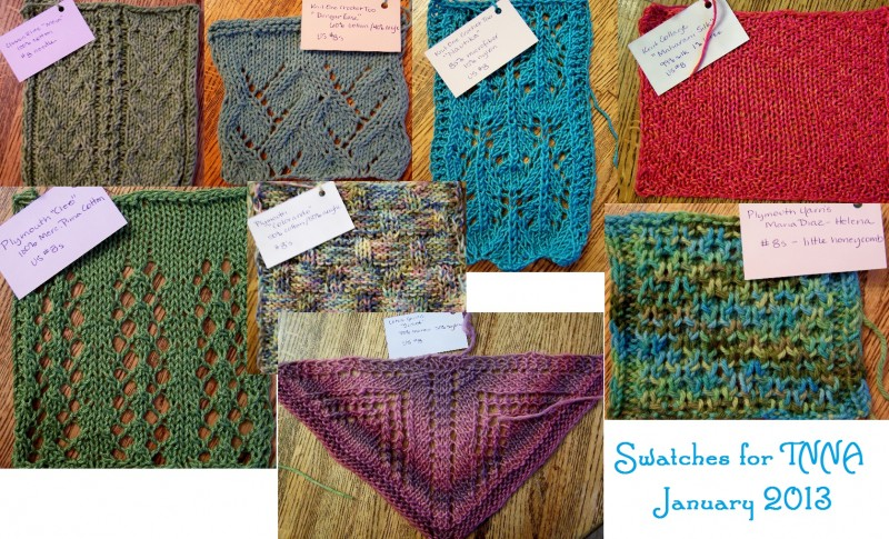 Collage of swatches