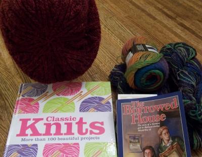 Yarn-along:  February 20, 2013
