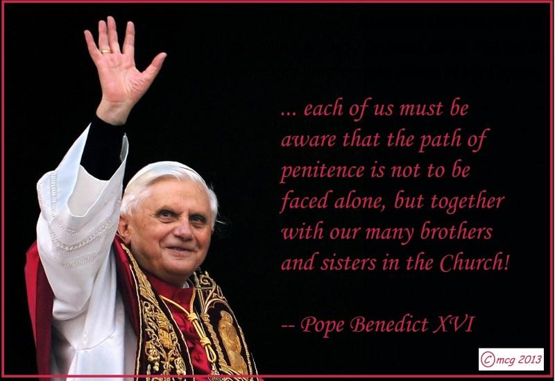 Day 3 of Lent 2013:  Community