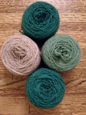 Spring Gate Farm's cashmere (50%), merino (25%), silk (25%) blend!