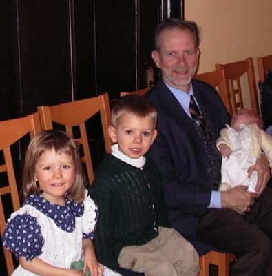 Christening in Gaming, Austria - December 12, 2002