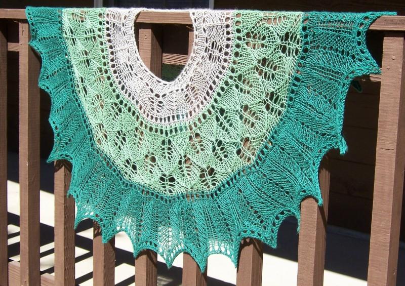 Spring is Sprung shawl