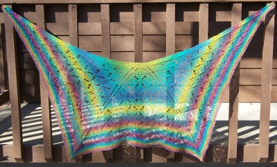 Flight Formation ... a shawl