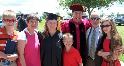 A family favorite from Austria, Dr. Michael Waldstein, shares our joy of Kotch's graduation