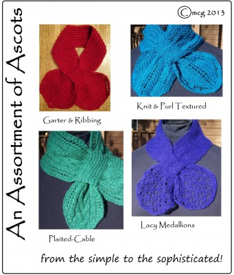 An Assortment of Ascots ... from the simple to the sophisticated