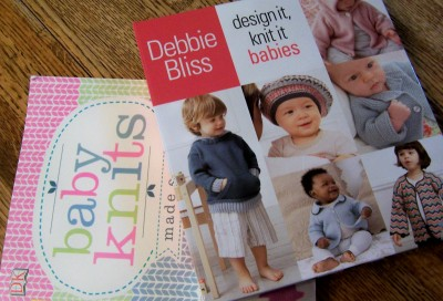 Books on baby knits