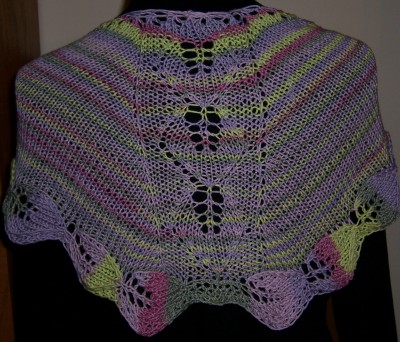 Azalea Leaves shawl