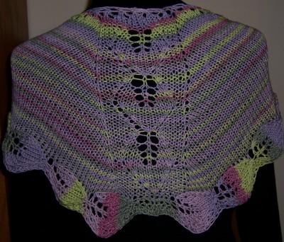 Azalea Leaves shawl