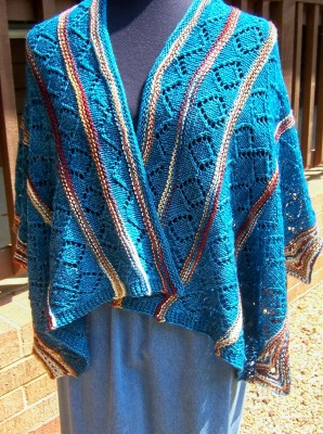Spirit of the Southwest shawl