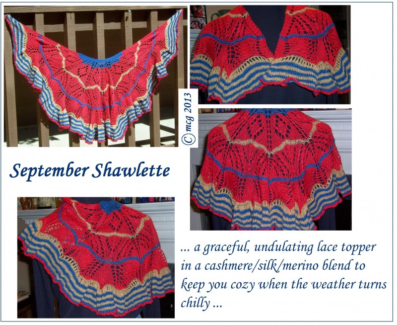 September Shawlette
