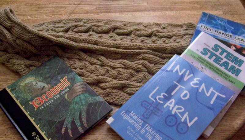 Yarn-along -- October 9, 2013