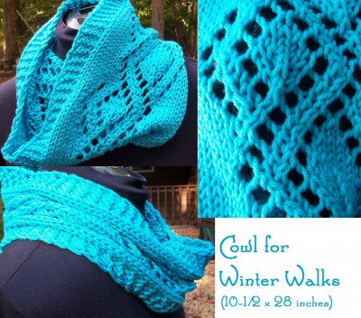 Cowl for Winter Walks ... (10.5 x 28 inches OR 10.5 x 49 inches)