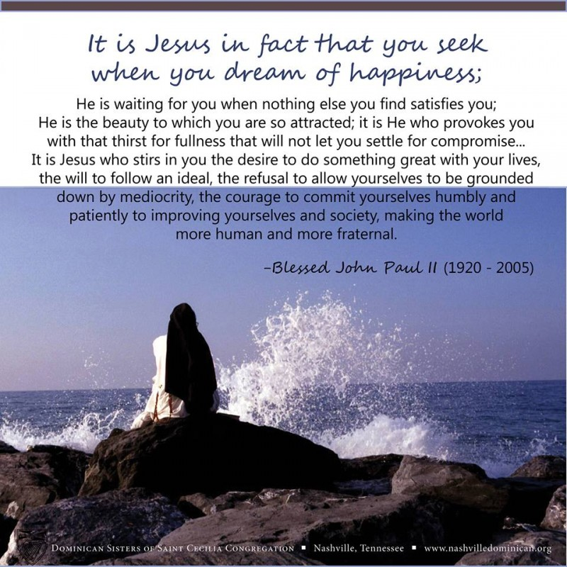 from the lovely Dominican Sisters of St. Cecilia