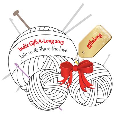 Indie Designer Gift-a-Long ... a Ravelry event, Nov 1-Dec 31, 2013