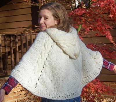 Winter Wonderland cape