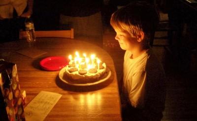 happy, happy 11th birthday dear son ...