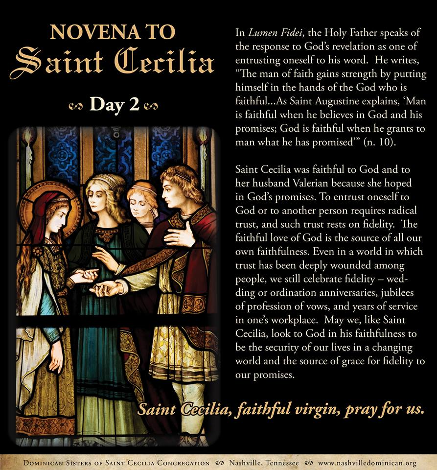 Day 2 - Dominican Sisters of St. Cecilia