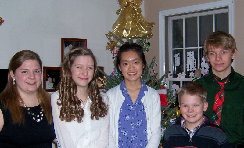 The Gildersleeve Children (with an adult thrown in there)