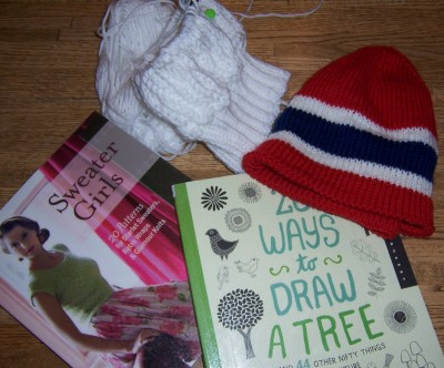 Yarn-along: January 15, 2014