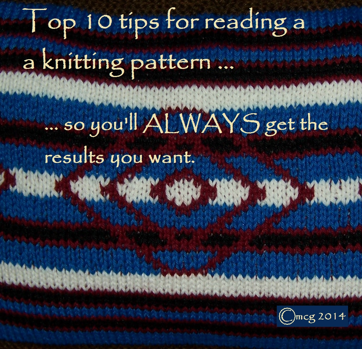 How To Read A Knit Pattern : Tips Tuesday: How to read a knitting pattern ? so you ll always get the resul...