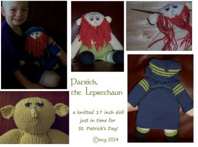 Patrick, the Leprechaun ... a cuddly soft doll