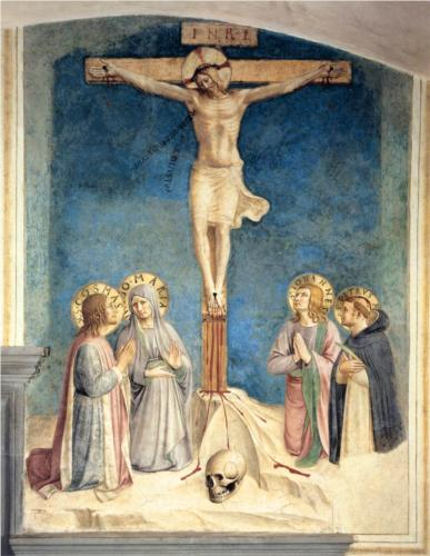 Fra Angelico's Curcifxion