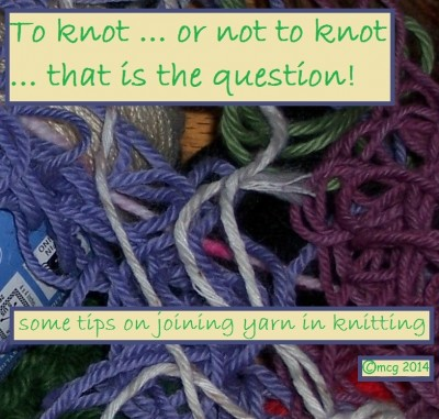 joining knitting