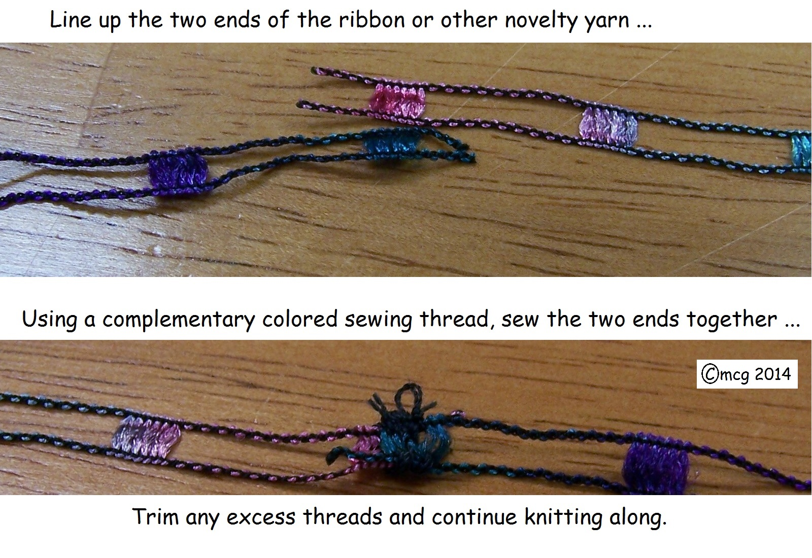 Knitting Joining Yarn Knot : Tips tuesday u2013 to knot or not u2026 that is the question! : by