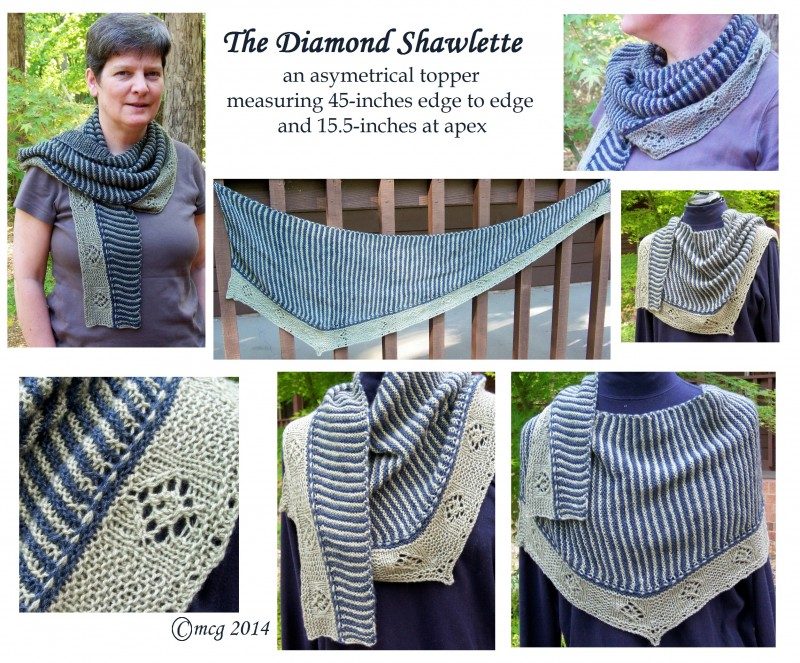 Diamond Shawlette