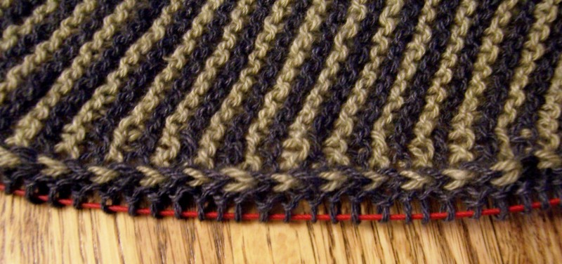close-up of shawl in cashmere-bamboo blend