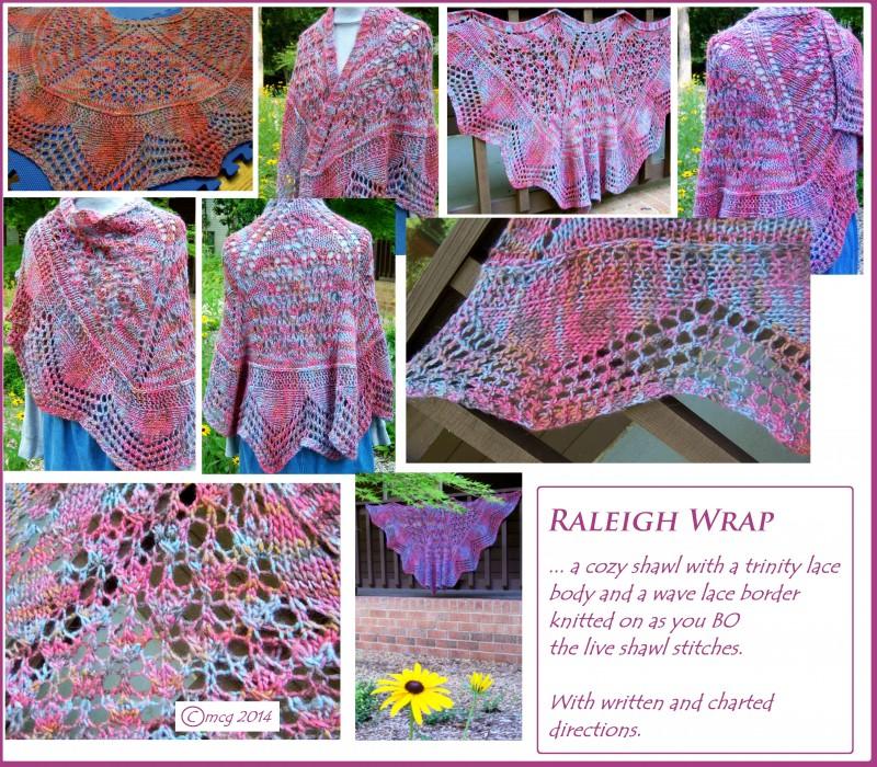 Raleigh Wrap ... a cozy shawl