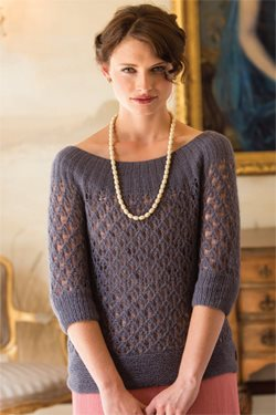 Luxurious Lacy Overblouse