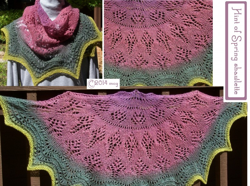 Hint of Spring shawlette