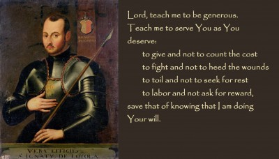 St. Ignatius of Loyola ( a good Basque saint and found of the Jesuits!)